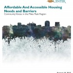"""Affordable and Accessible Housing Needs and Barriers"" report cover image"