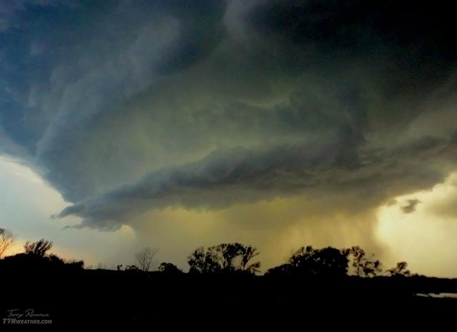 Terry Rosema Storm photograph