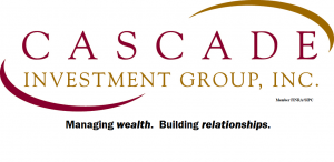 Cascade Investment Group, Inc. Logo. Managing Wealth. Building Relationships.