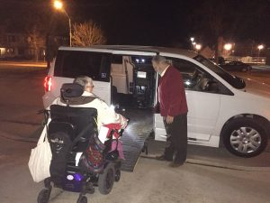 Amblicab's new wheelchair accessible van