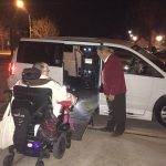 Wheelchair accessible minivan purchased through The IC Fund.