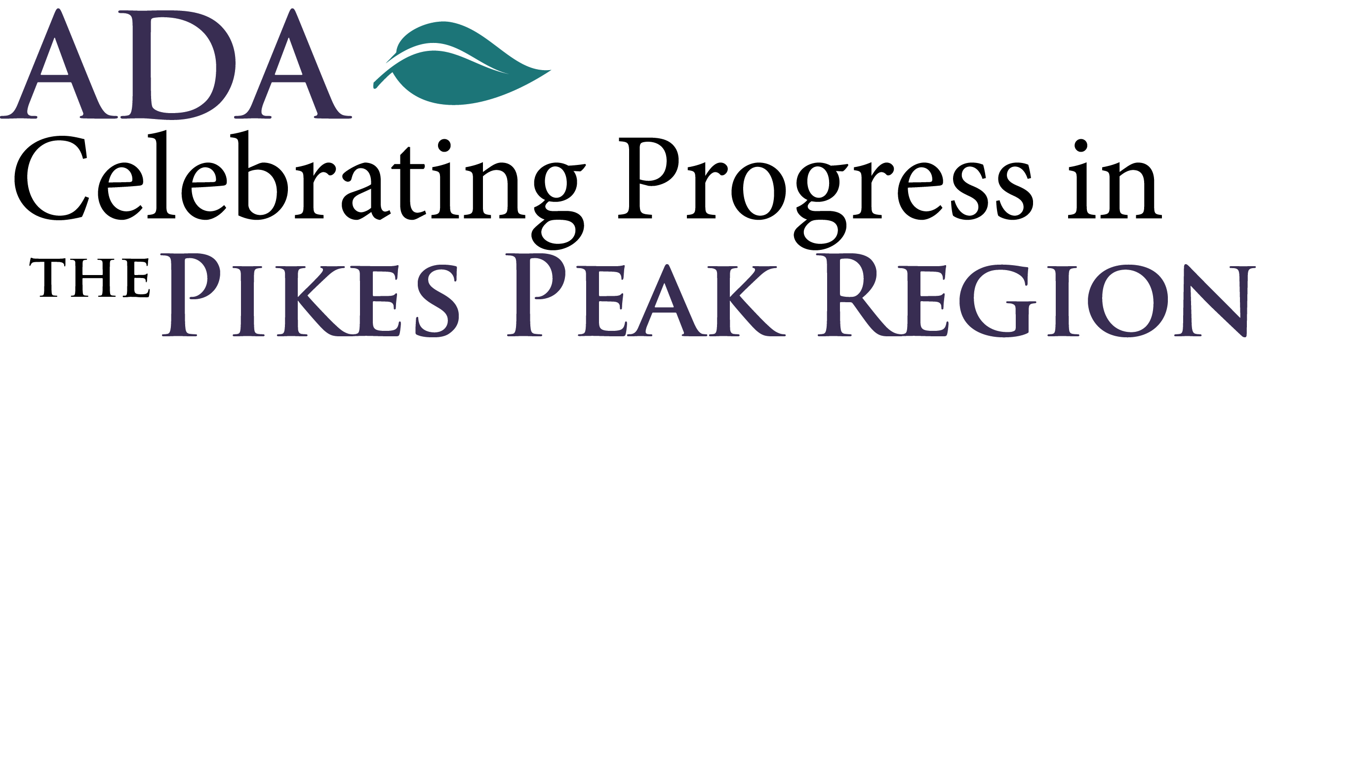 ADA Celebration event header