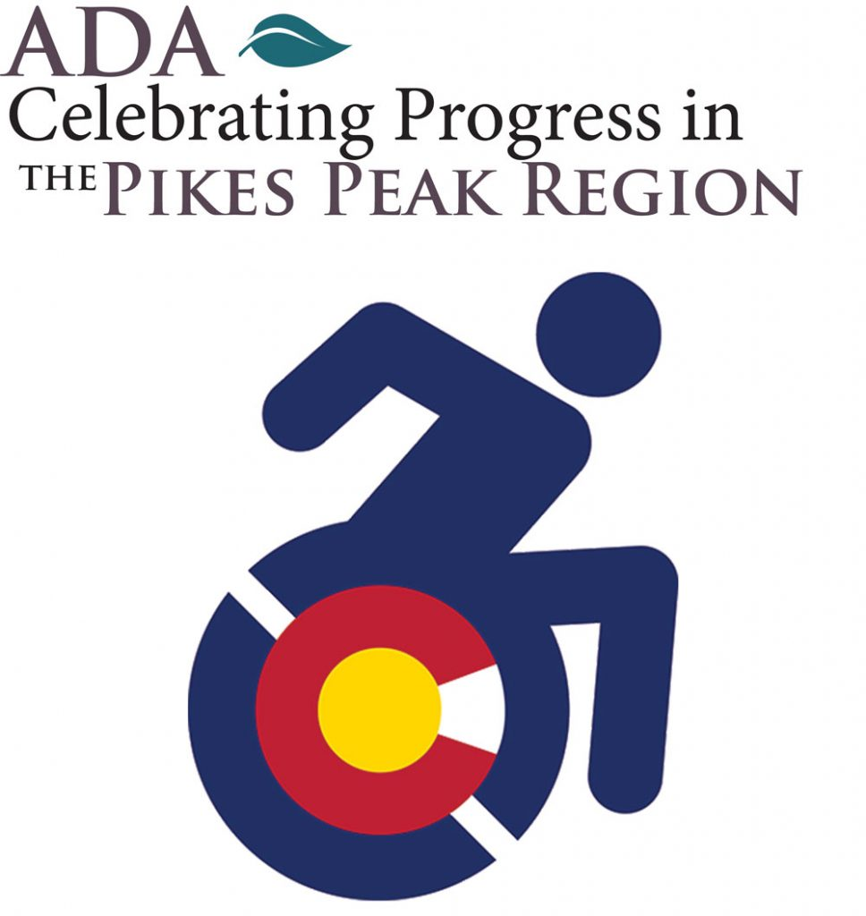 ADA Celebrating Progress in the Pikes Peak Region Logo