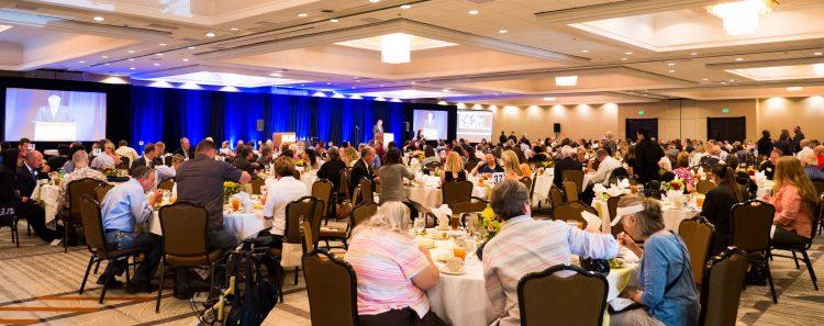 Panorama of ADA Celebration Luncheon