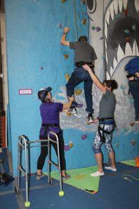 Various Photos from Adaptive Climbing event