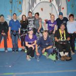Adaptive climbing group photo