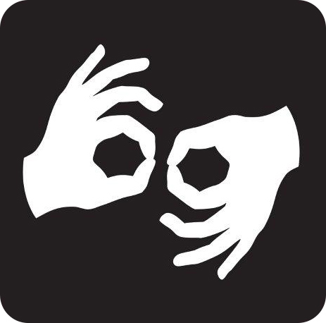 ASL Interpreter Hands Icon