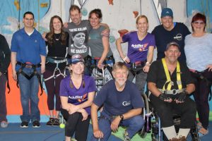 Group of adaptive climbers