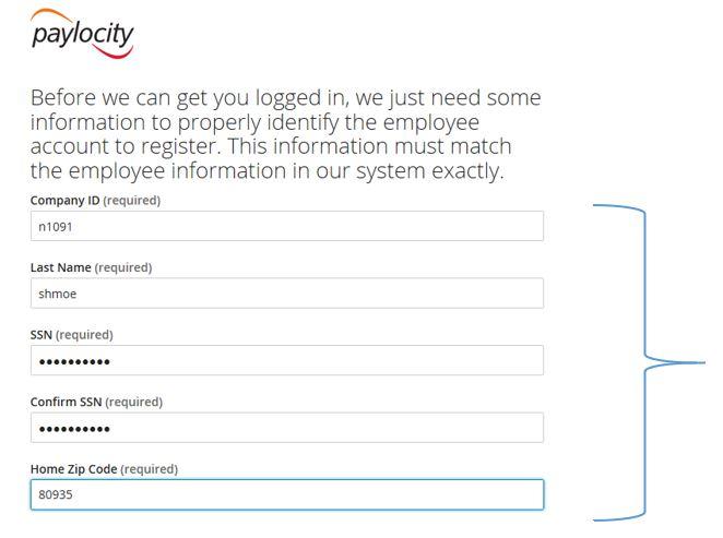 Paylocity Registration 03