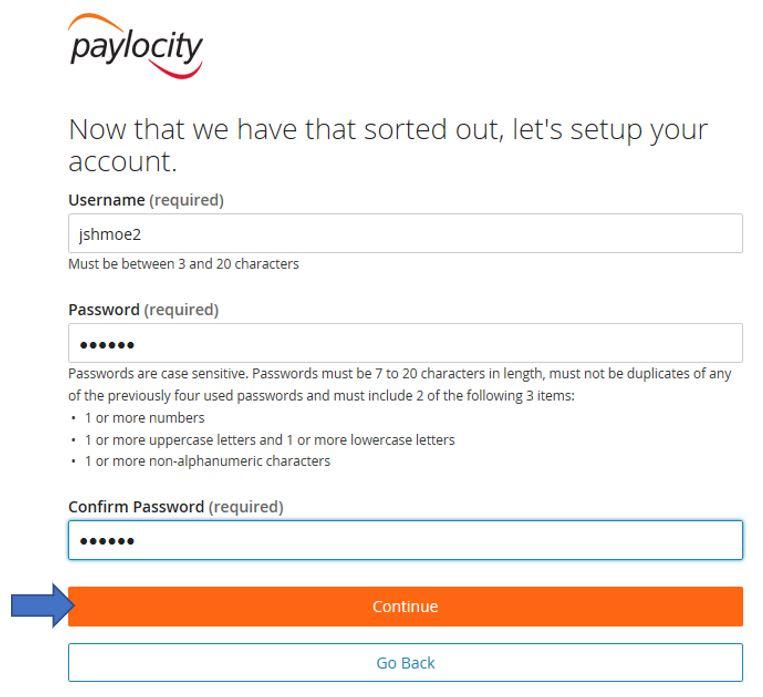Paylocity Registration 05