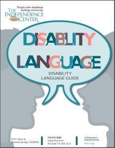 Disability Language Guide Icon