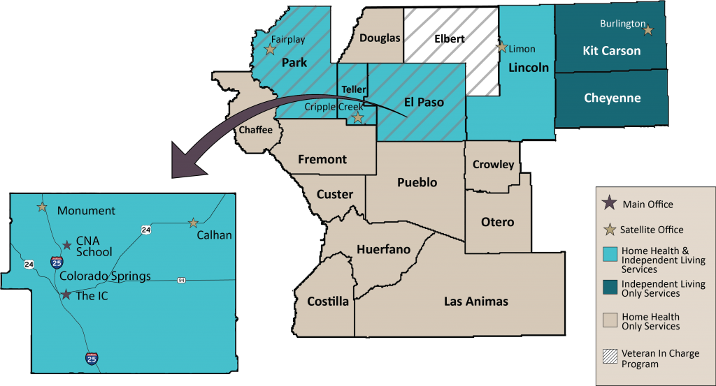 Counties Served in 2017