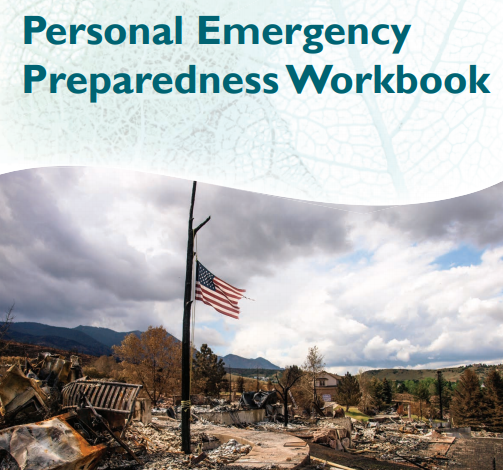 Cover of emergency preparedness workbook