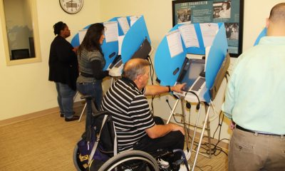 Voting at The Independence Center