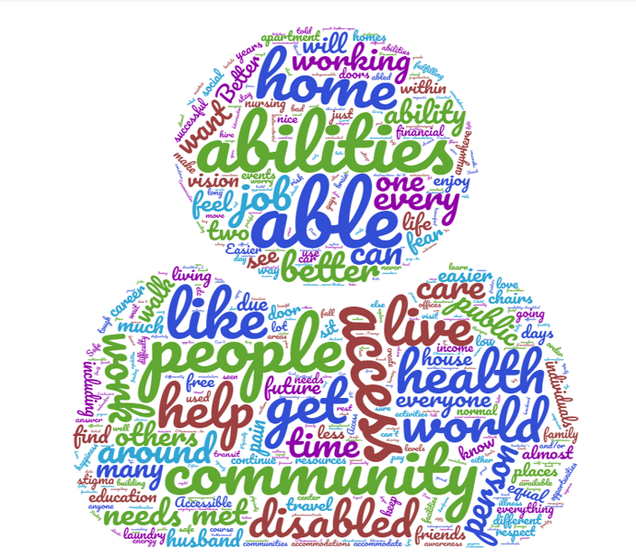 Word Cloud for the BHAG Survey