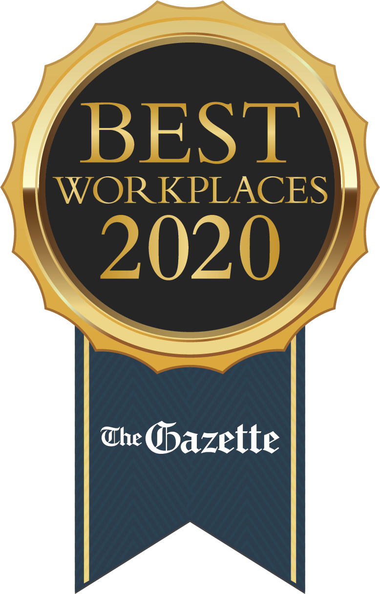Gazette Best Workplaces 2020 Seal