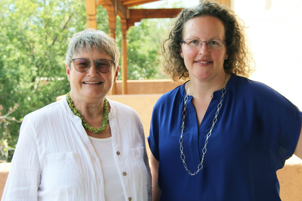 Image of Patricia Yeager and Indy Frazee